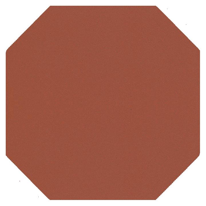 Achteckfliese SF 82 A.10, ziegelrot