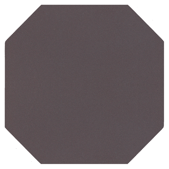 Achteckfliese SF 82 A.11, schwarzbraun