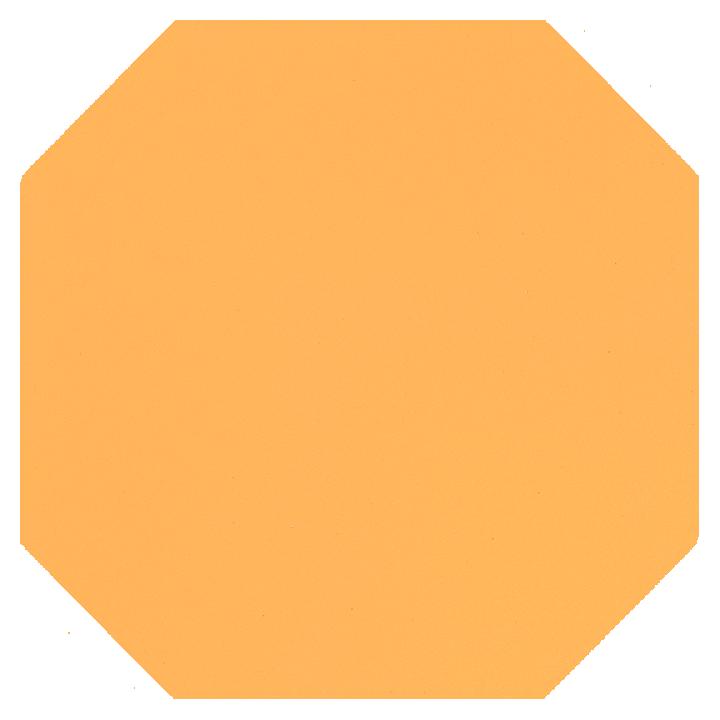 Achteckfliese SF 82 A.12, gelb kräftig