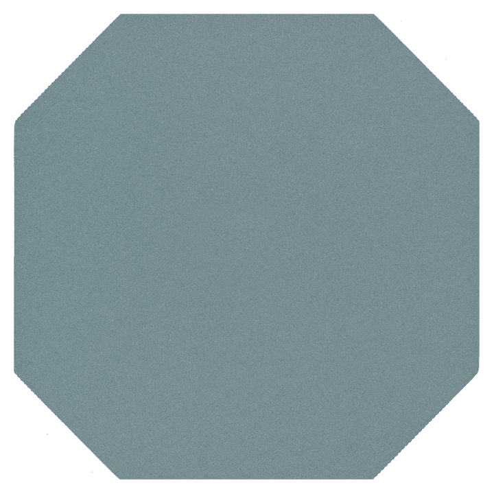 Octagonal tile SF 82 A.13, blau gedeckt