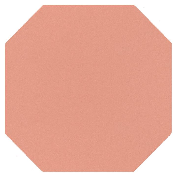 Achteckfliese SF 82 A.17, rosa gedeckt