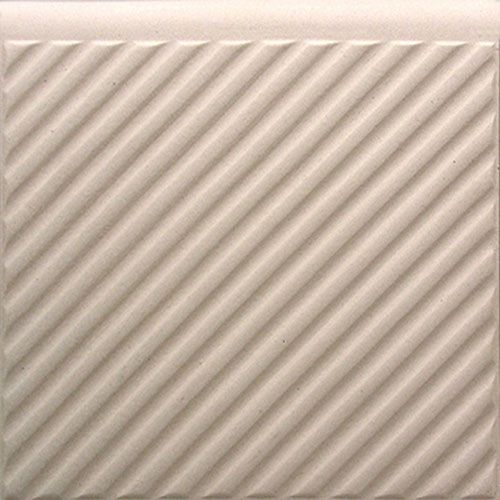 Carreau pour escalier SF 2R.1, cremeweiß