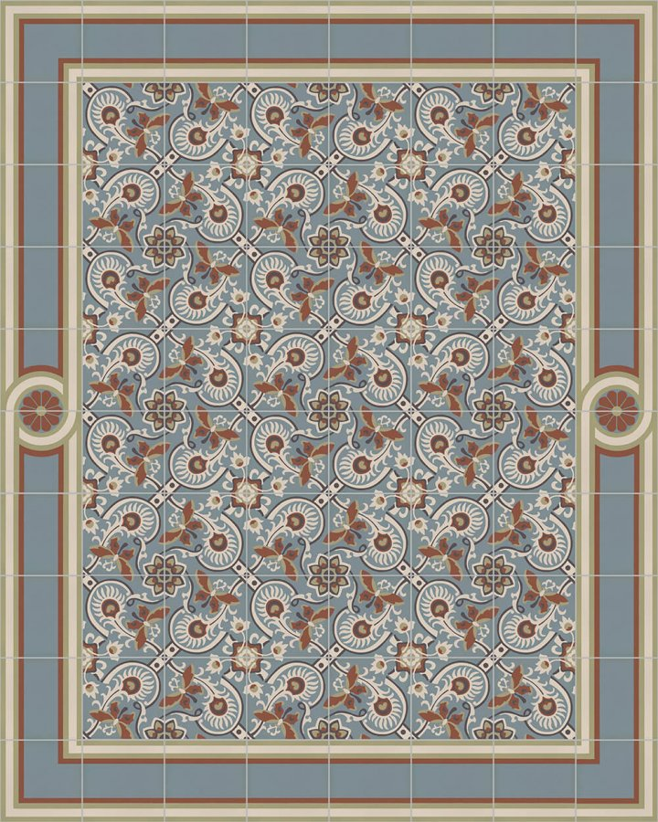Floor tiles Floor Tiles multi-coloured Layouts and patterns SF 565 L