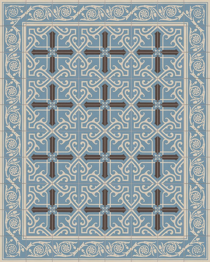 Floor tiles Floor Tiles multi-coloured Layouts and patterns SF 208 A e