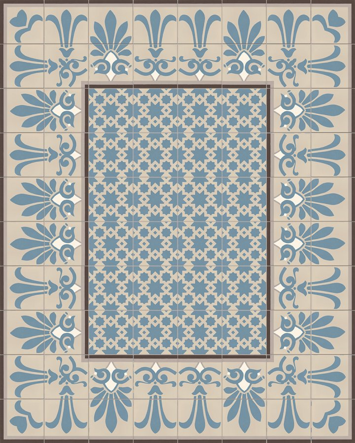Floor tiles Floor Tiles multi-coloured Layouts and patterns SF 304 A oben