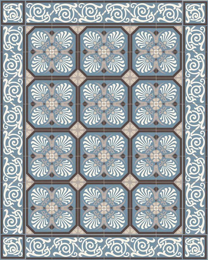 Floor tiles Floor Tiles multi-coloured Layouts and patterns SF 333 A