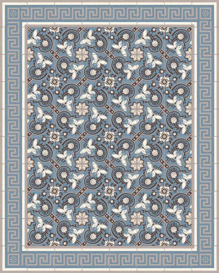 Floor tiles Floor Tiles multi-coloured Layouts and patterns SF 357 A e