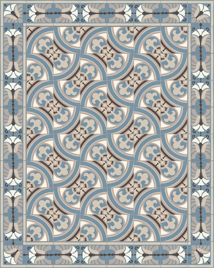 Floor tiles Floor Tiles multi-coloured Layouts and patterns SF 562 A