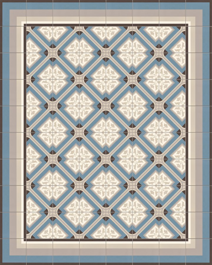 Floor tiles Floor Tiles multi-coloured Layouts and patterns SFTG 11503 A
