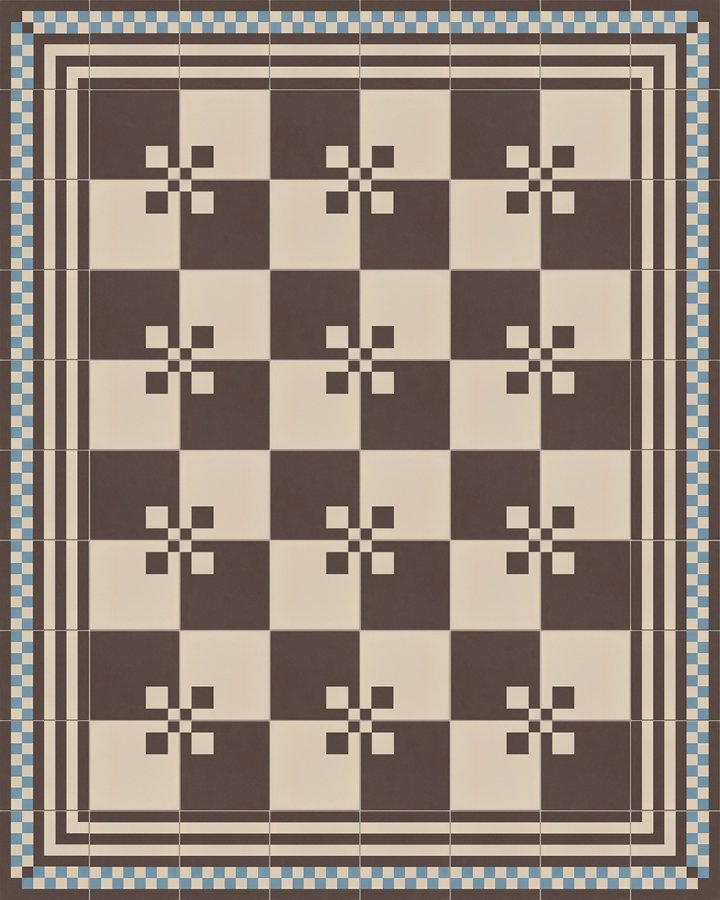 Floor tiles Floor Tiles multi-coloured Layouts and patterns SFTG 8303 A e