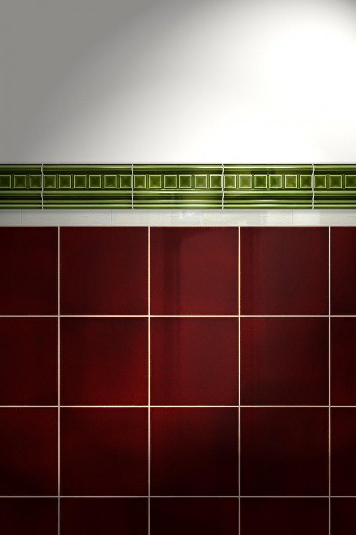 Wall tiles Borders, base tiles and trim pieces Verlegebeispiel B 20.28