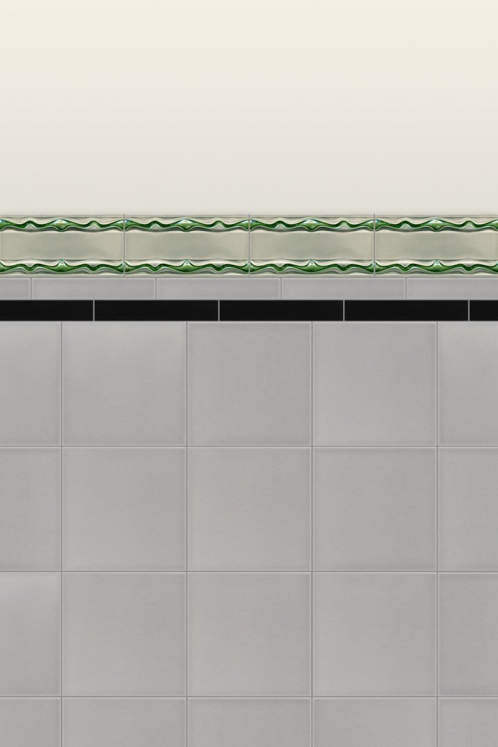 Wall tiles Borders, base tiles and trim pieces Verlegebeispiel B 21
