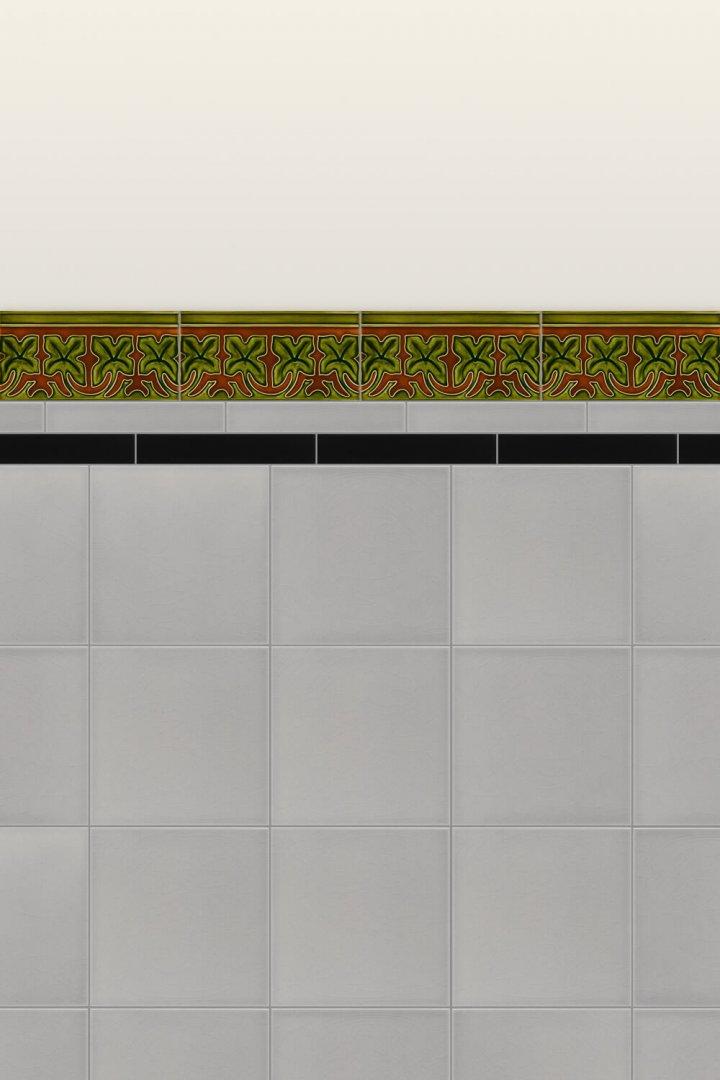 Wall tiles Borders, base tiles and trim pieces Verlegebeispiel B 23