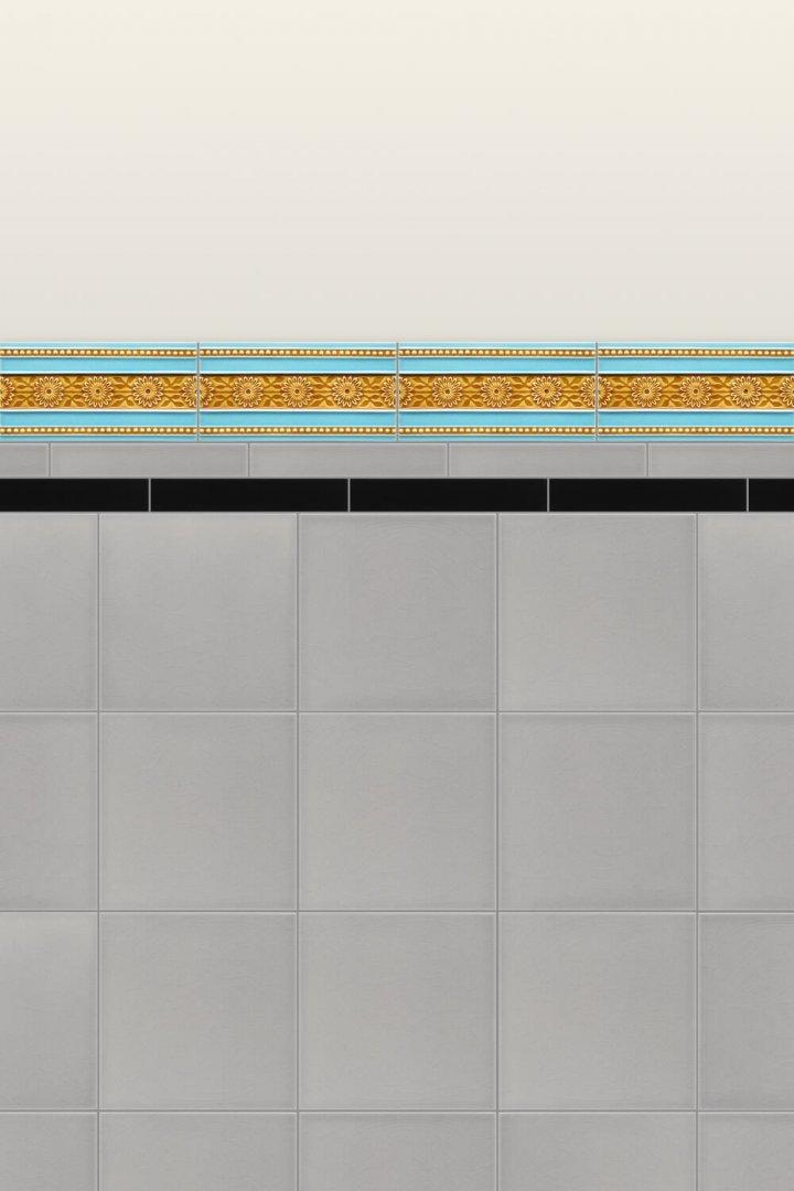 Wall tiles Borders, base tiles and trim pieces Verlegebeispiel B 28