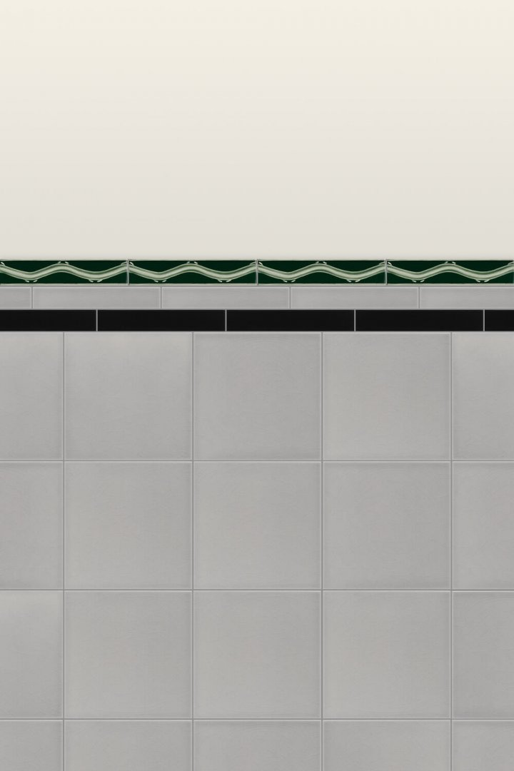 Wall tiles Borders, base tiles and trim pieces Verlegebeispiel B 8 V1