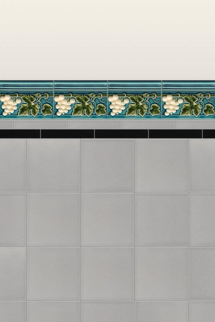 Wall tiles Borders, base tiles and trim pieces Verlegebeispiel B 9