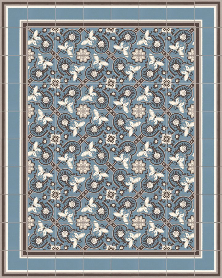 Floor tiles Floor Tiles multi-coloured Layouts and patterns SF 565 A