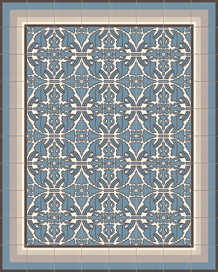 Floor tiles Floor Tiles multi-coloured Layouts and patterns SF 331 A l