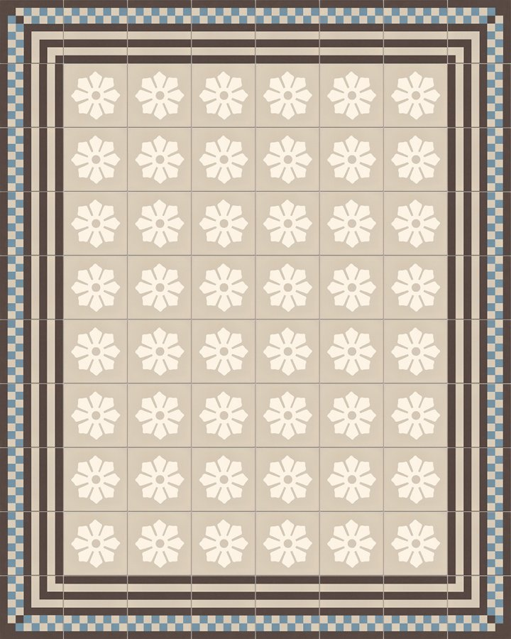 Floor tiles Floor Tiles multi-coloured Layouts and patterns SF 244 A b