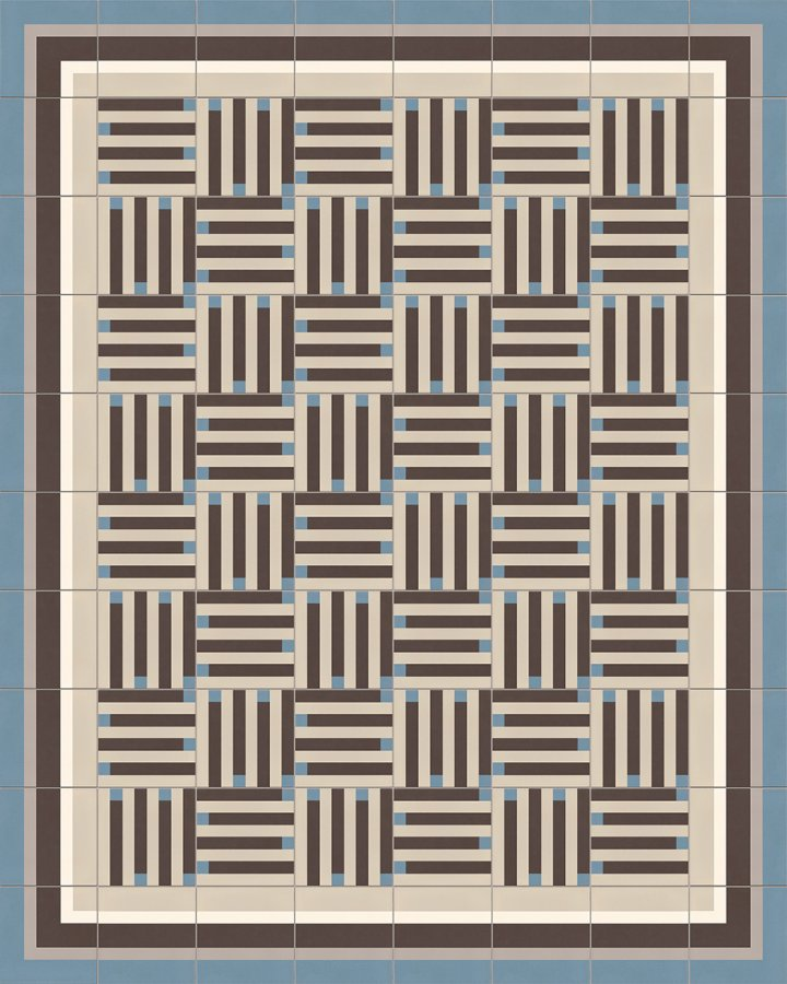 Floor tiles Floor Tiles multi-coloured Layouts and patterns SFTG 8301 A