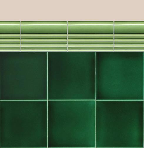 Carreaux muraux Bordures et plinthes Verlegebeispiel BTG 3.11