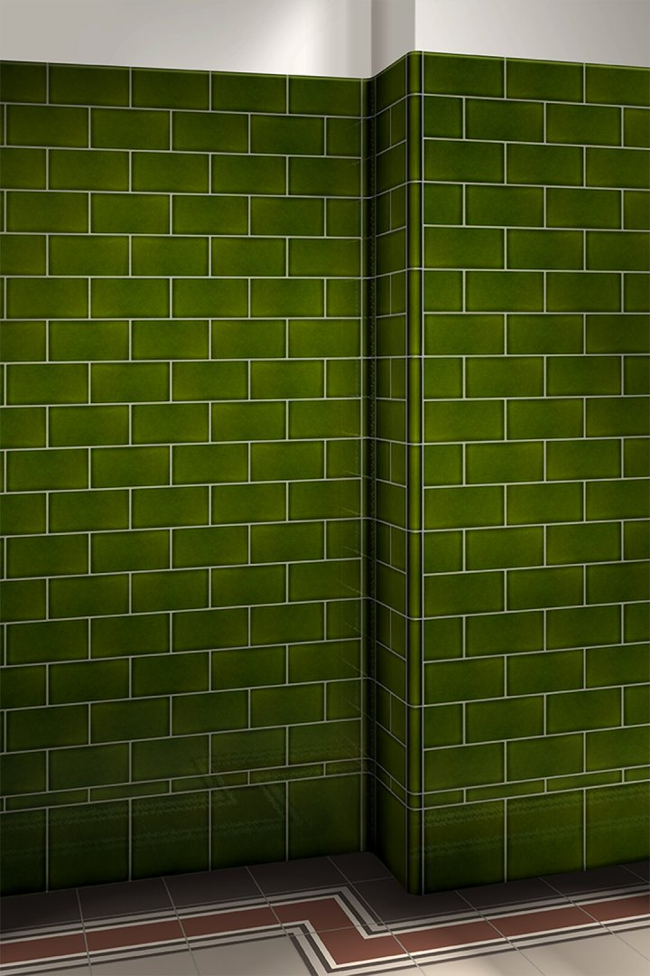 Wall tiles single-coloured Verlegebeispiel F 10.28