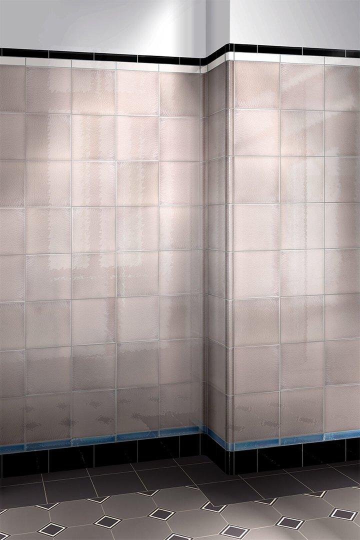 Wall tiles single-coloured Verlegebeispiel F 10.31