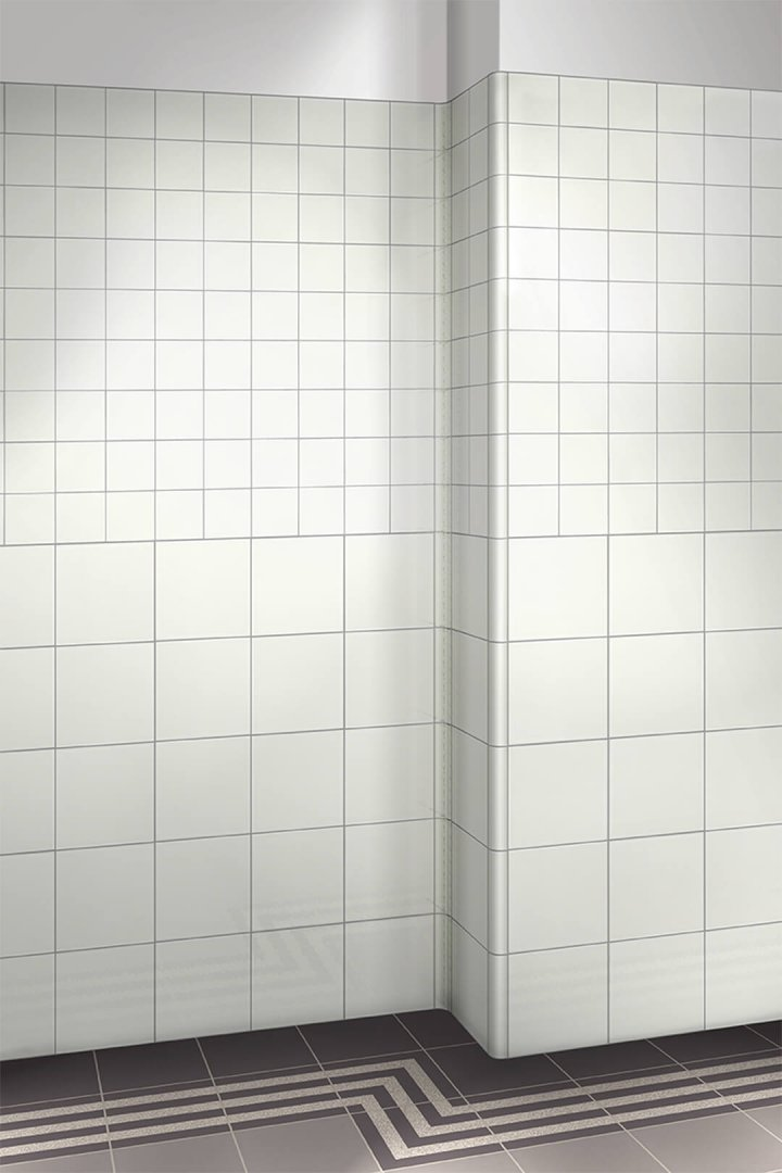 Wall tiles single-coloured Verlegebeispiel F 10.39