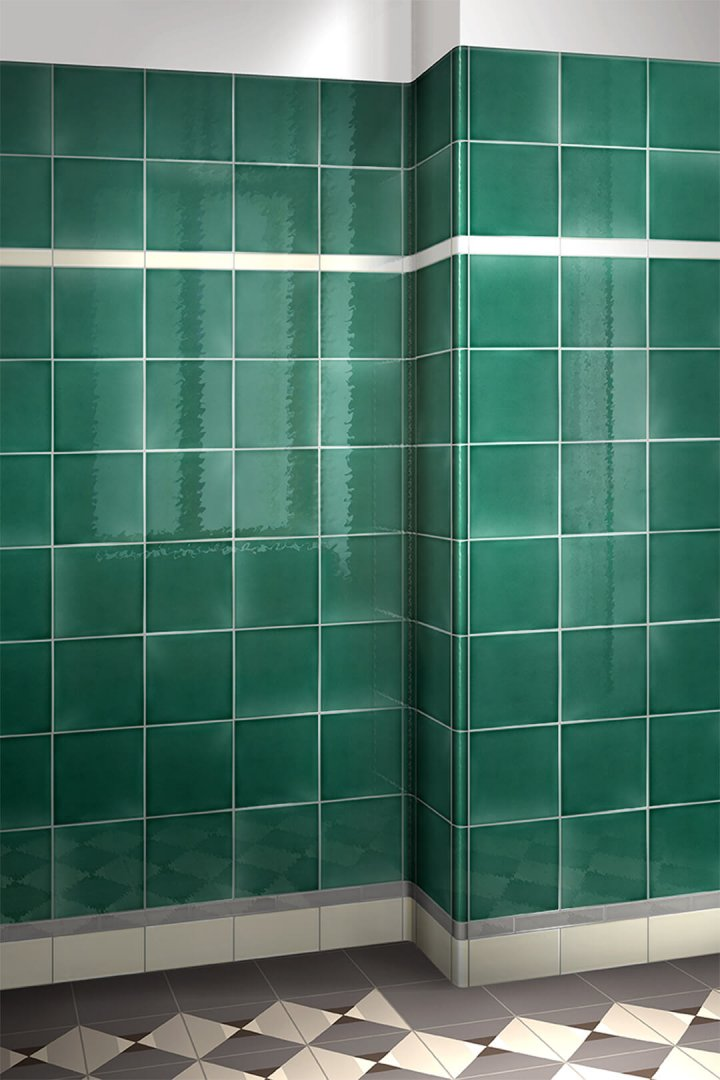 Wall tiles single-coloured Verlegebeispiel F 10.43