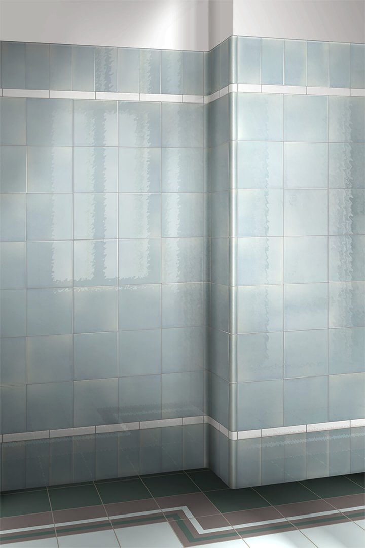 Wall tiles single-coloured Verlegebeispiel F 10.44