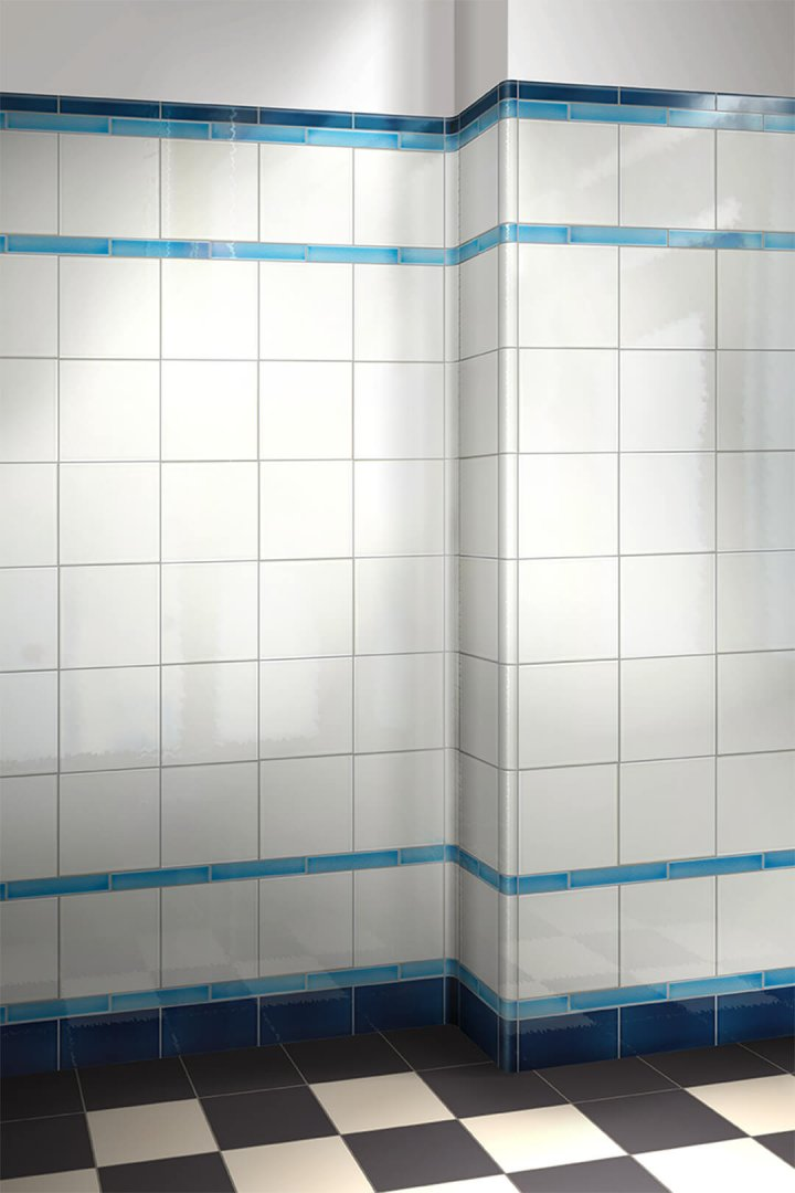 Wall tiles single-coloured Verlegebeispiel F 10.48