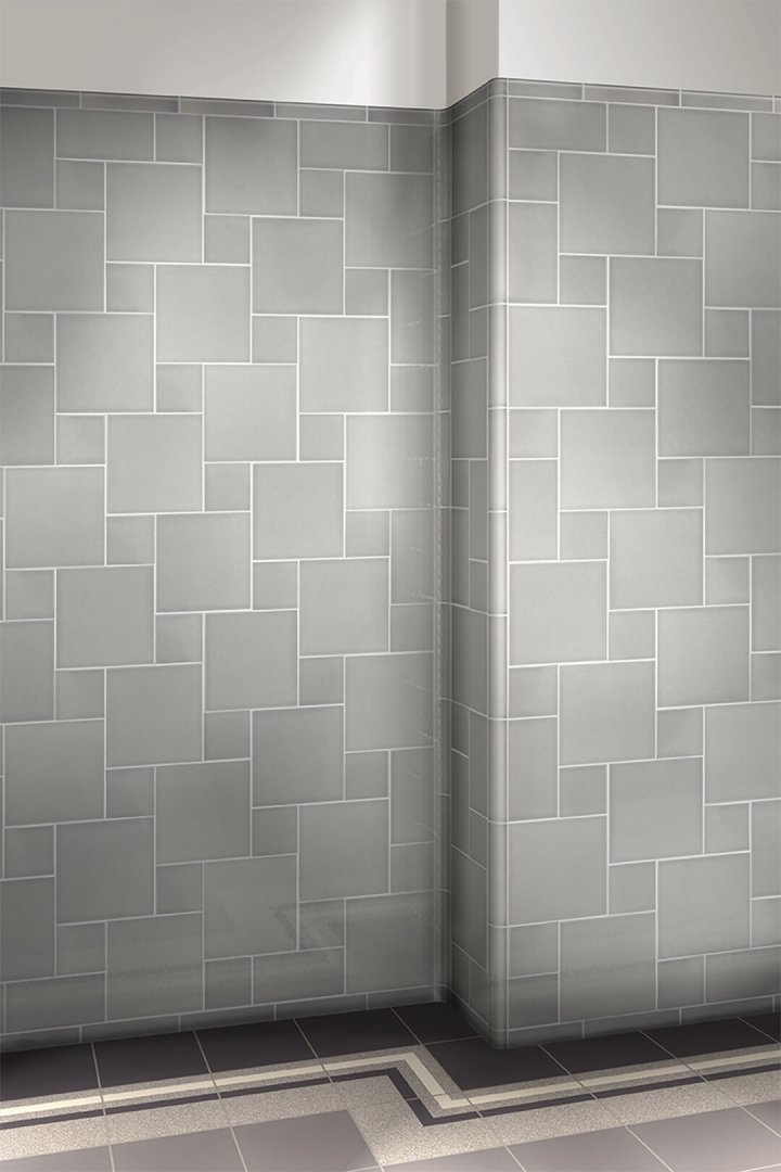 Wall tiles single-coloured Verlegebeispiel F 10.50