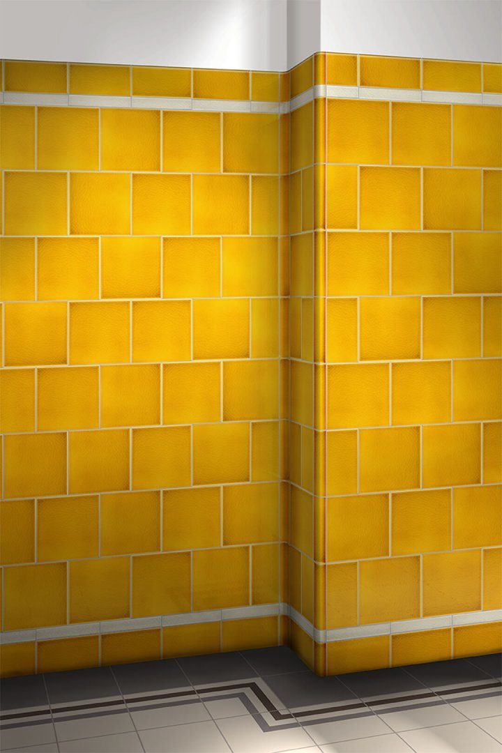 Wall tiles single-coloured Verlegebeispiel F 10.575