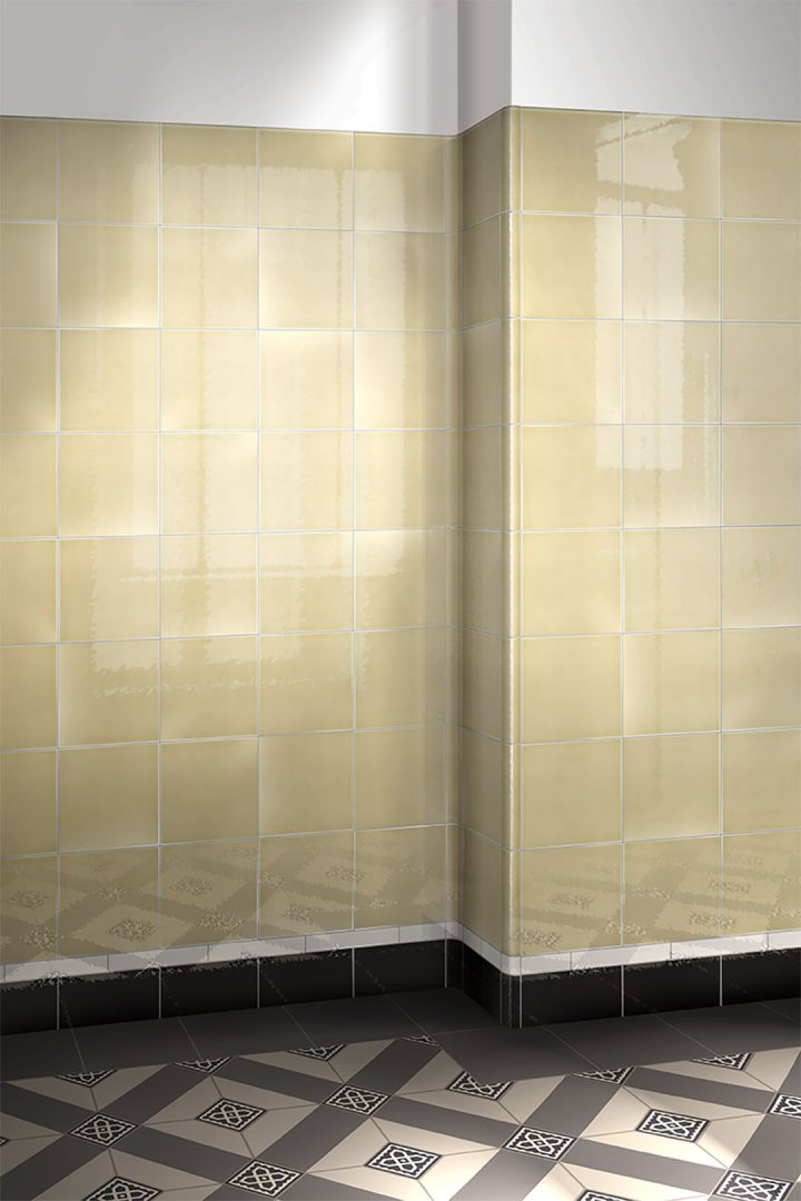 Wall tiles single-coloured Verlegebeispiel F 10.60