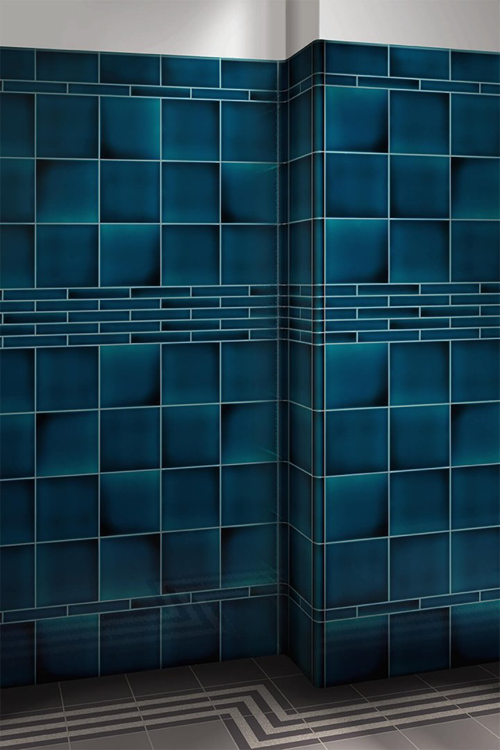 Wall tiles single-coloured Verlegebeispiel F 10.620