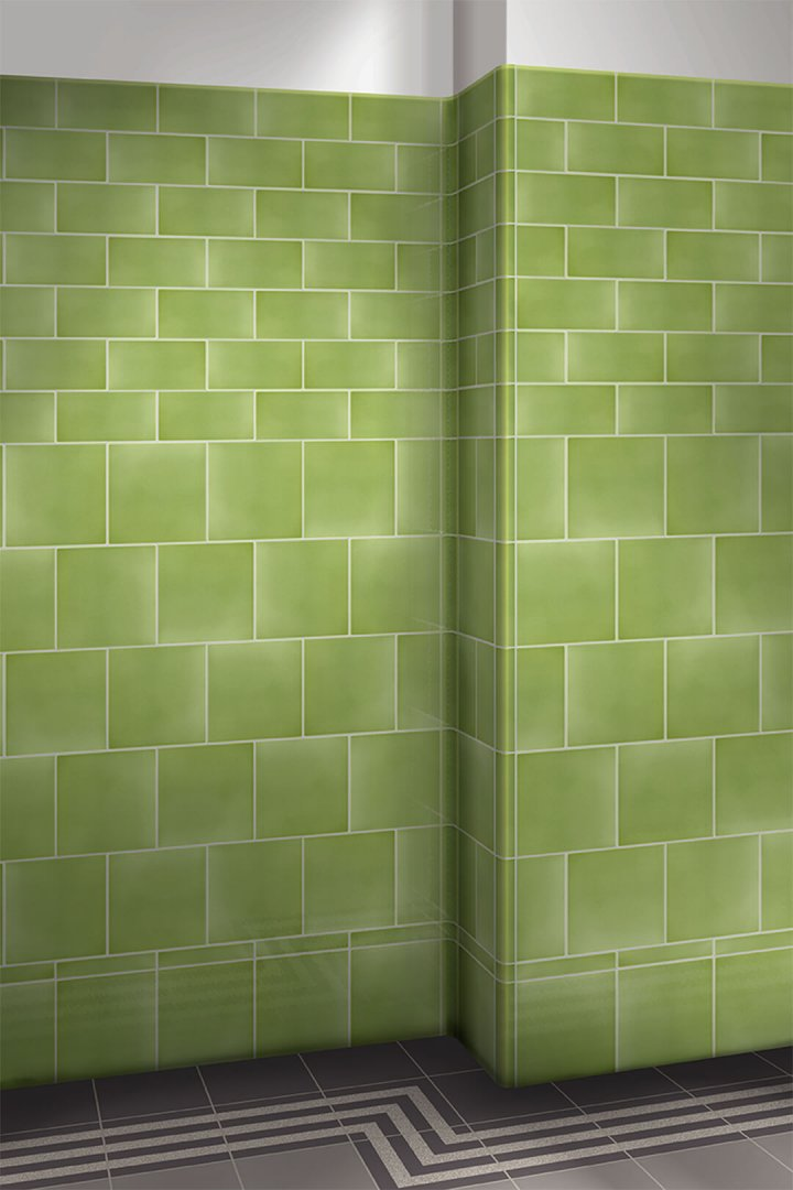 Wall tiles single-coloured Verlegebeispiel F 10.63