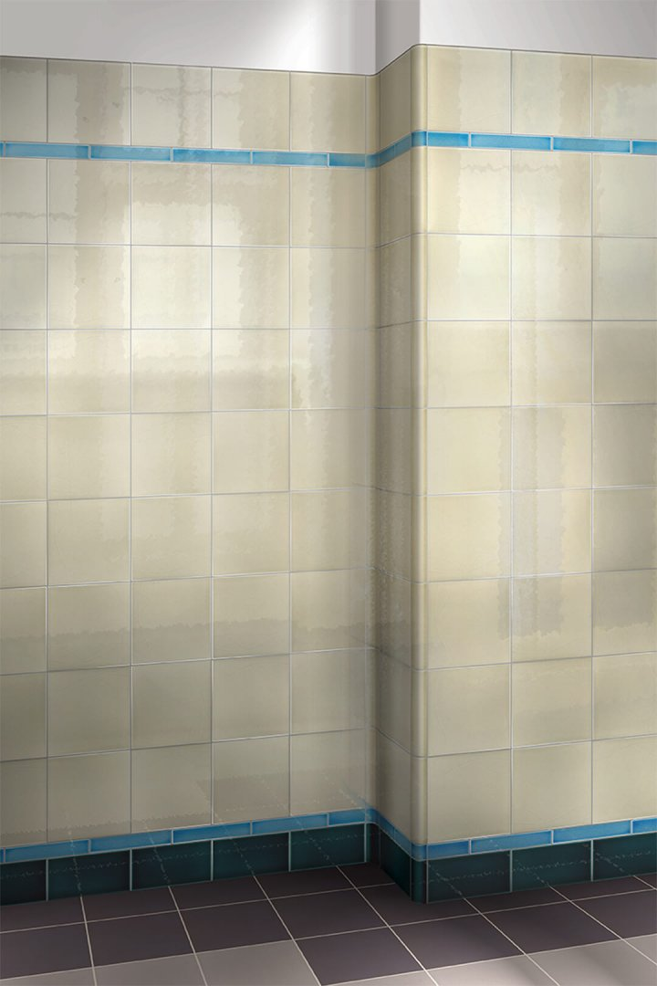 Wall tiles single-coloured Verlegebeispiel F 10.66