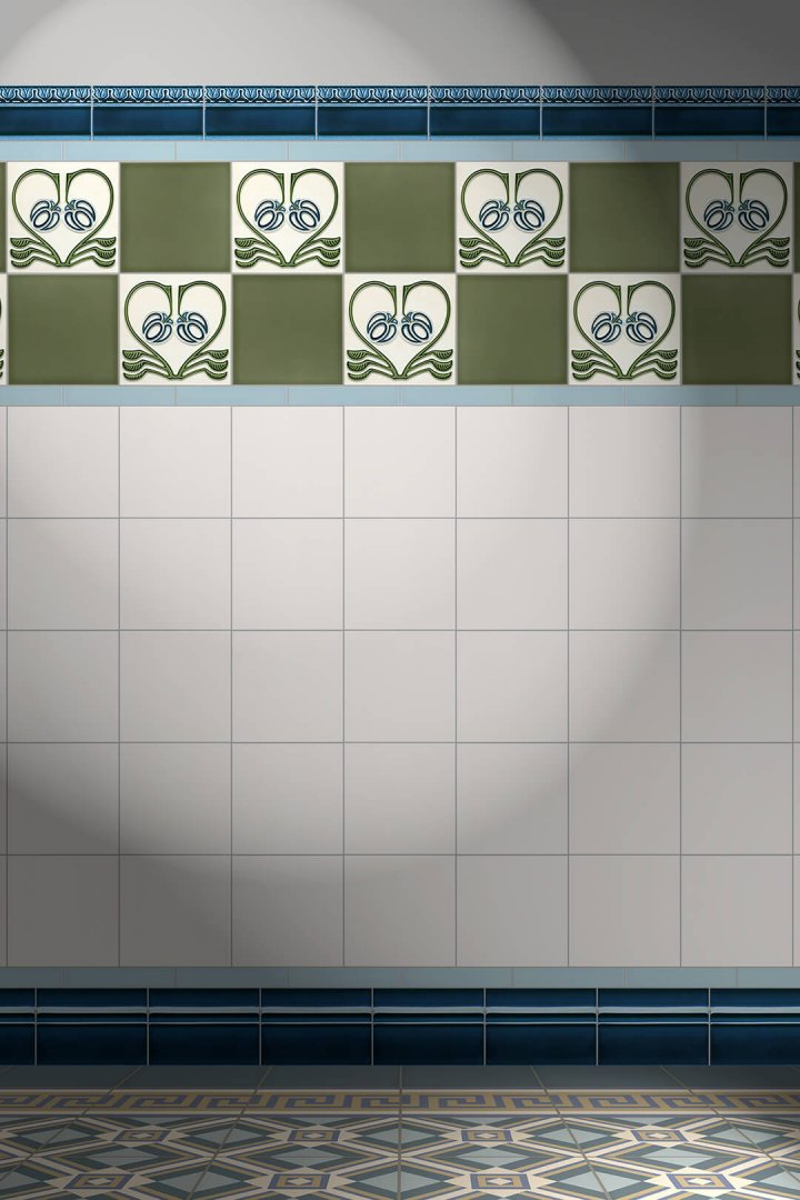 Carreaux muraux  Avec motifs Verlegebeispiel F 129 V1