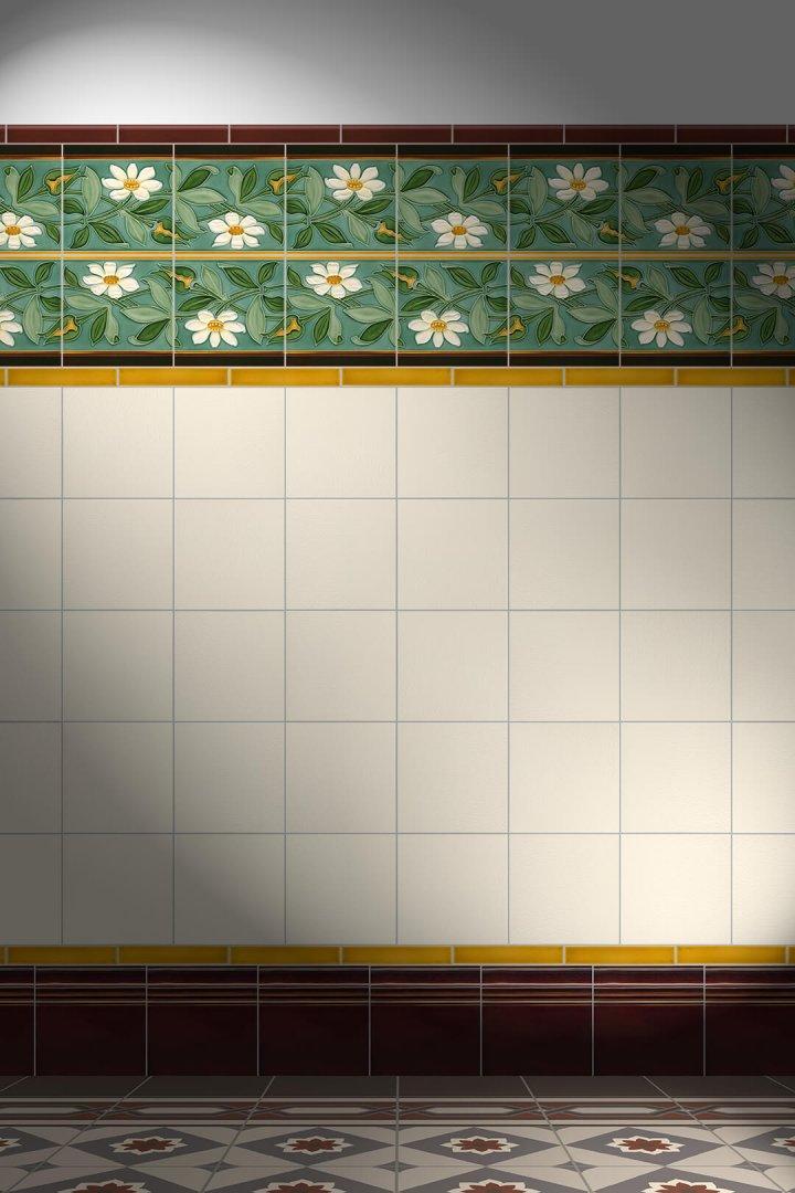 Carreaux muraux  Avec motifs