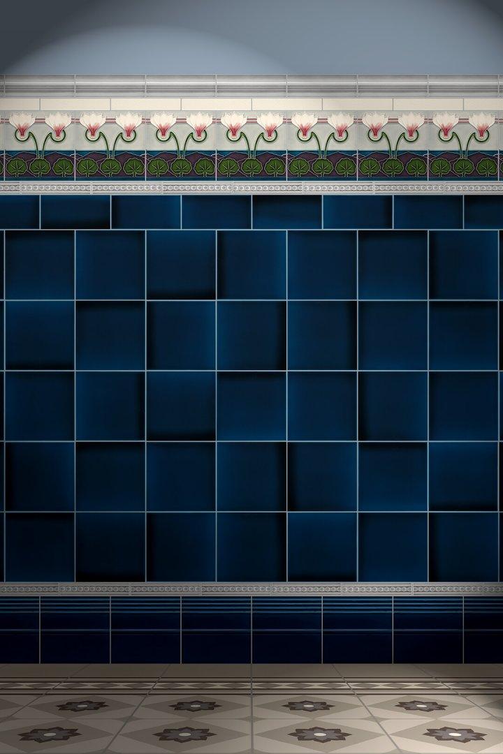 Carreaux muraux  Avec motifs Verlegebeispiel F 138