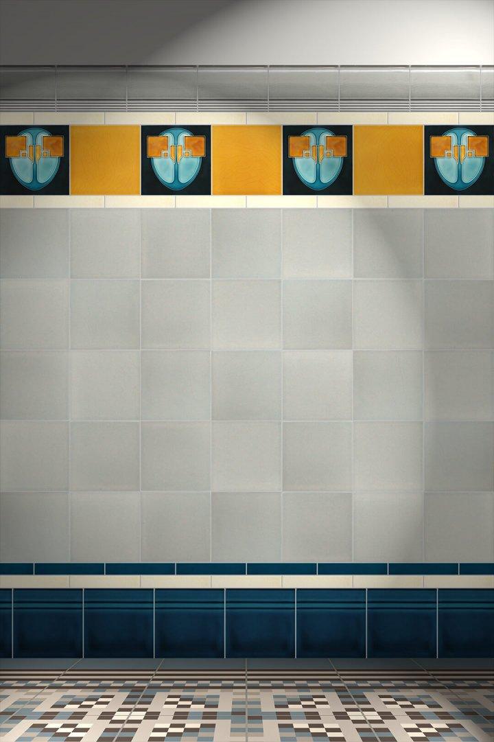 Carreaux muraux  Avec motifs Verlegebeispiel F 13 V1