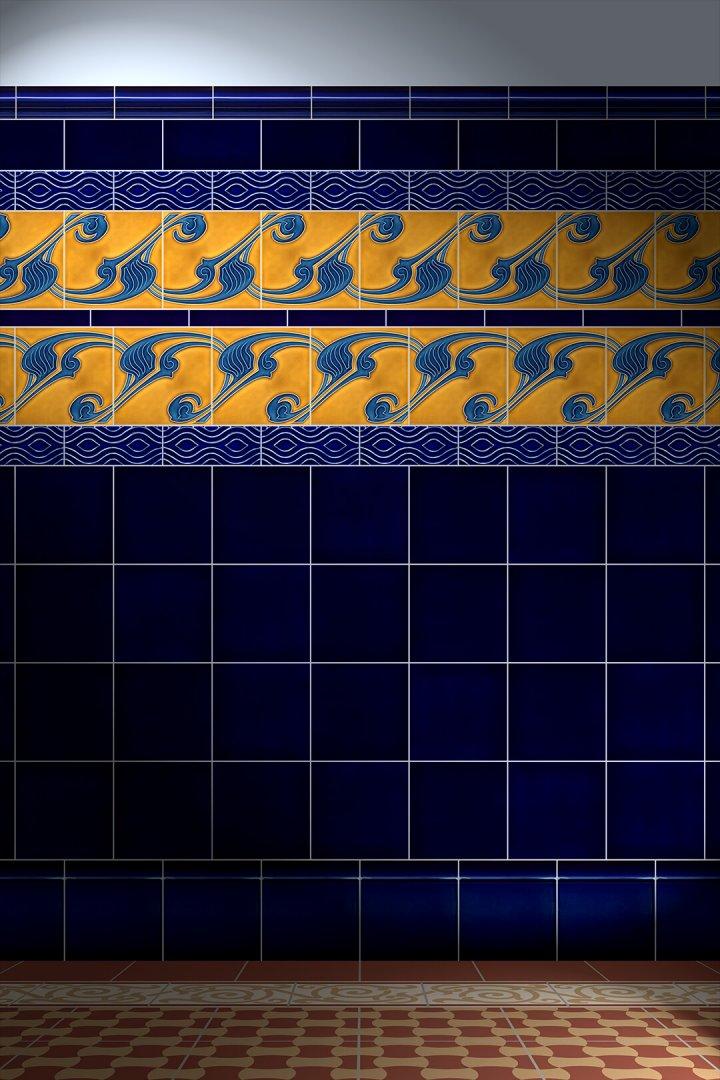 Carreaux muraux  Avec motifs Verlegebeispiel F 145 V1
