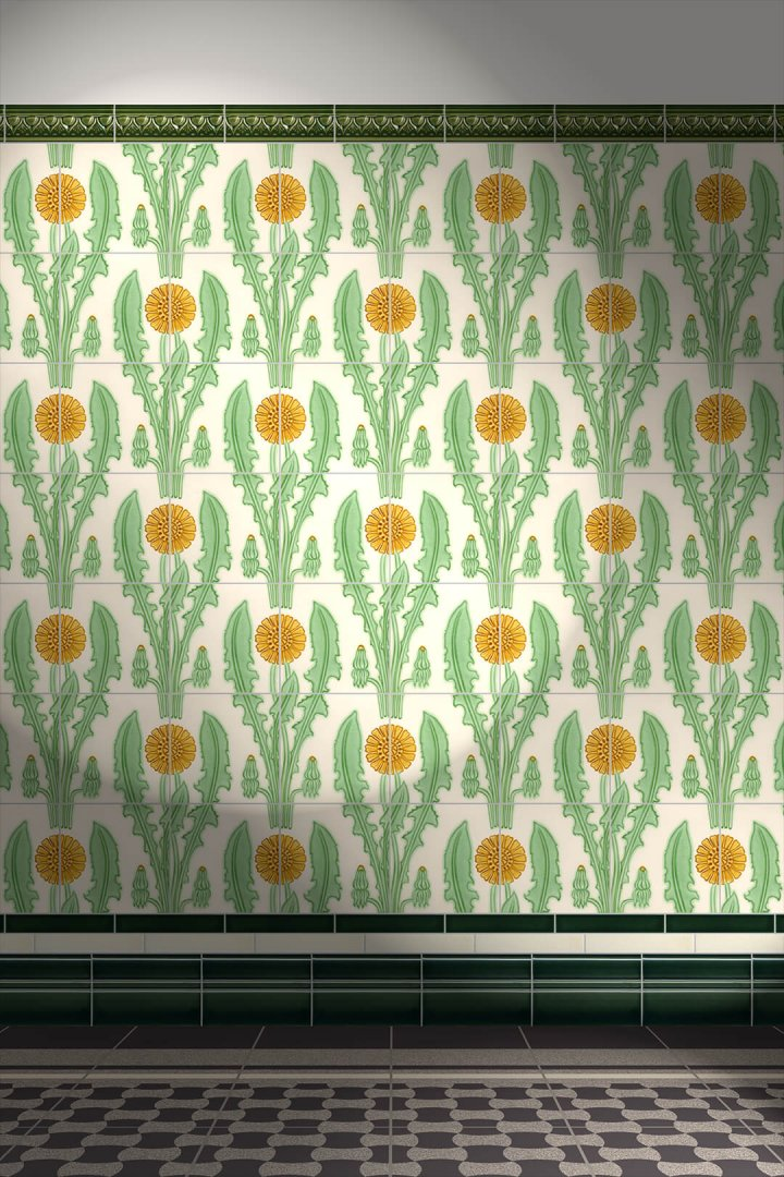 Carreaux muraux  Avec motifs Verlegebeispiel F 168b V1