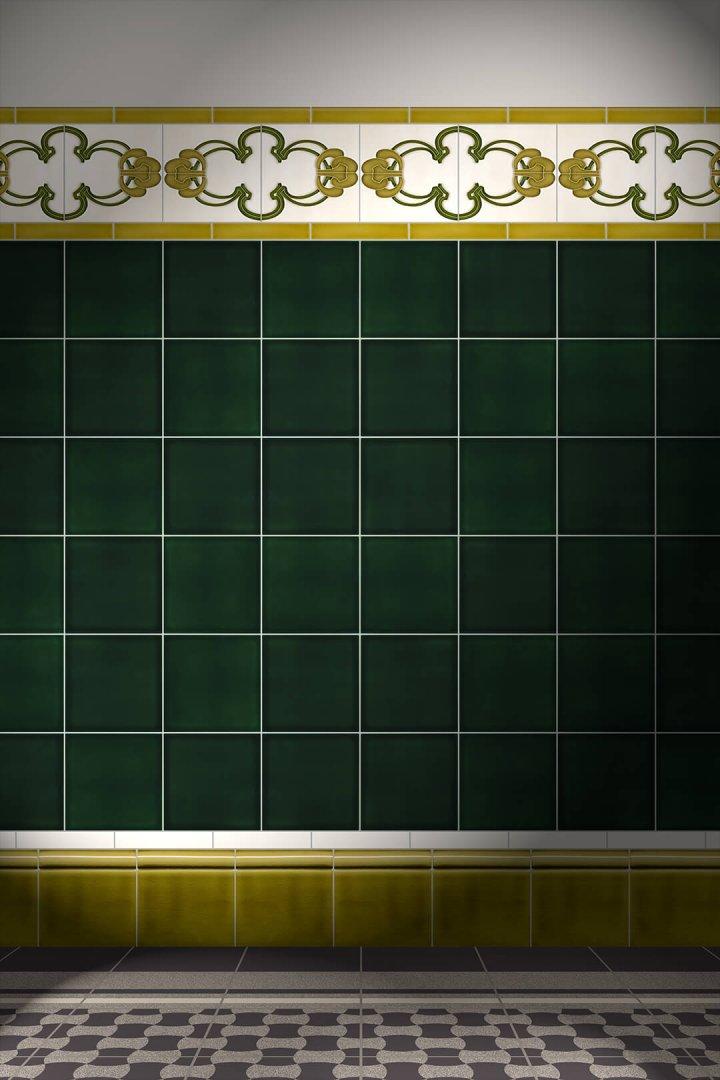 Carreaux muraux  Avec motifs Verlegebeispiel F 170 V1