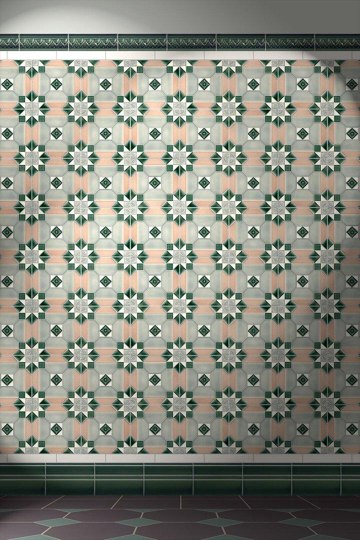 Carreaux muraux  Avec motifs Verlegebeispiel F 171 V1