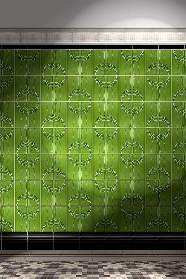 Carreaux muraux  Avec motifs Verlegebeispiel F 176 V1
