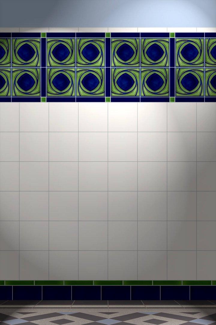 Carreaux muraux  Avec motifs Verlegebeispiel F 181LR