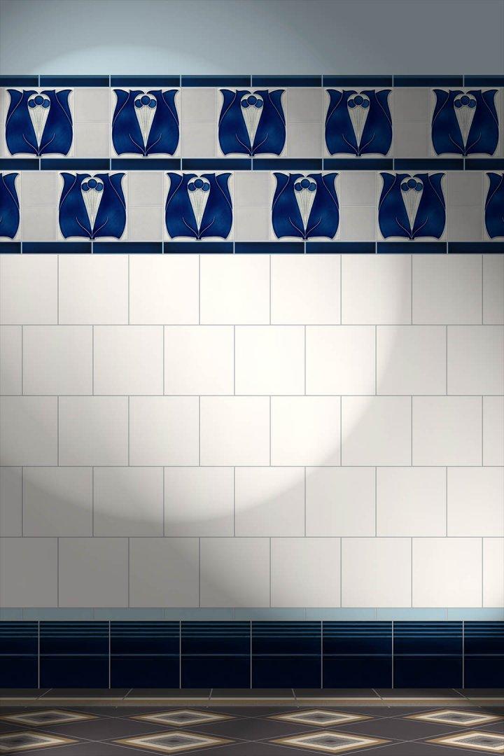 Carreaux muraux  Avec motifs Verlegebeispiel F 182 V1
