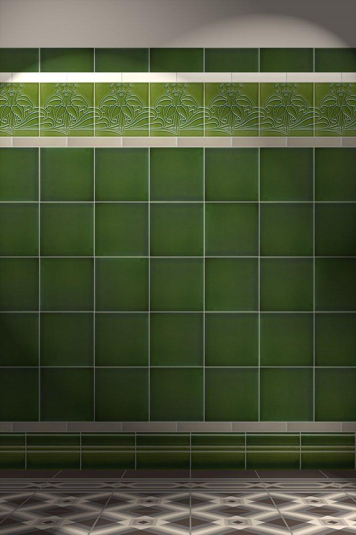 Wall tiles Tiles decorated Verlegebeispiel F 178 V1