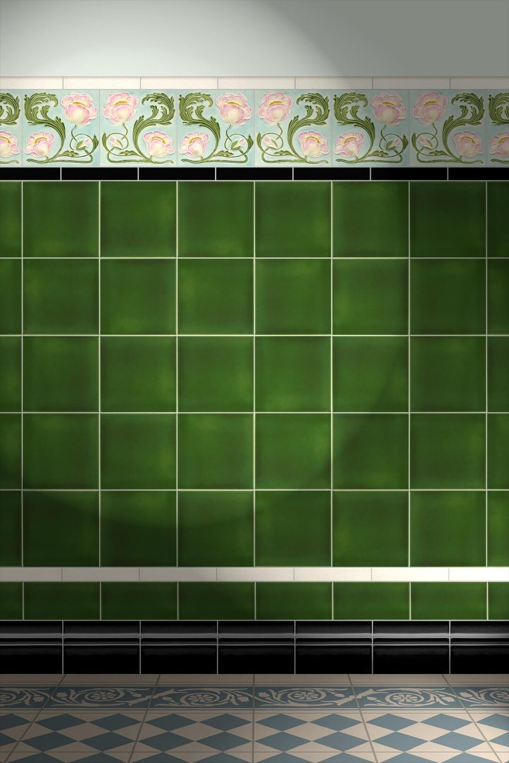 Carreaux muraux  Avec motifs Verlegebeispiel F 22R V2